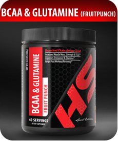 BCAA and Glutamine (Fruit Punch) by Vitamin Prime