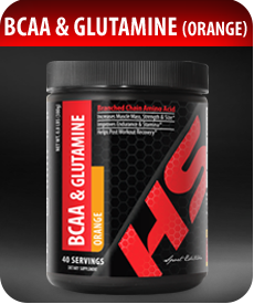 BCAA and Glutamine (Orange) by Vitamin Prime