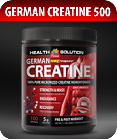 German Creatine 500g by Vitamin Prime
