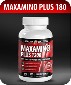 Maxamino 1200 - 180 Amino Acids  by Vitamin Prime